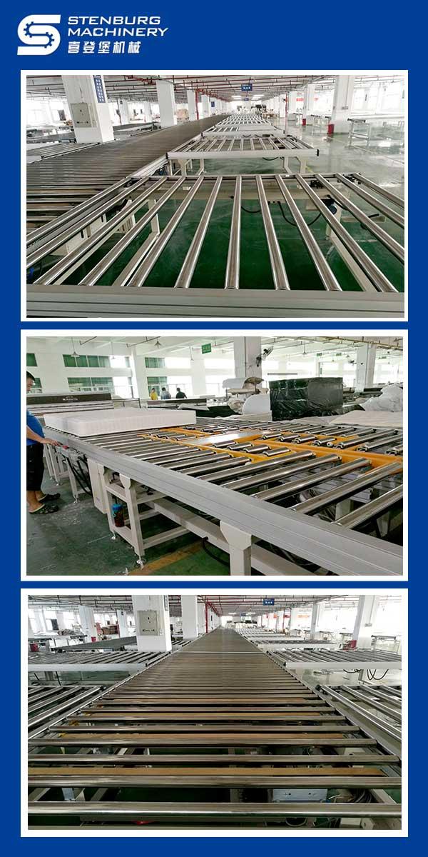 Ligne de production de matelas 1